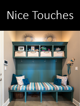 nice touches | jeff watson homes